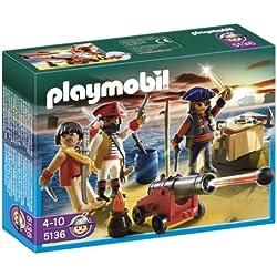 Playmobil Piratas - Tripulación pirata.