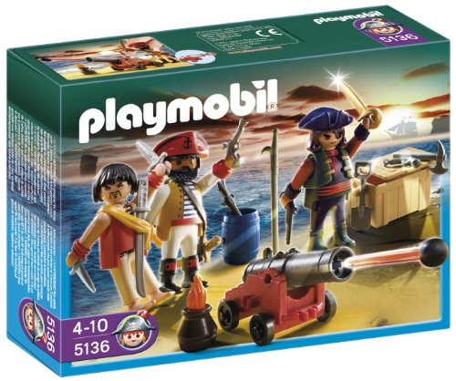 Playmobil Piratas - Tripulación pirata...