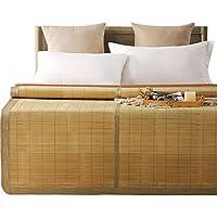 Comparador de precios Cool Bamboo Mat 1.8m Summer Plegable con Aire Acondicionado Pad Double Student Textil Ropa de Cama (Tamaño : 1.8m(6 Foot) Bed) - precios baratos