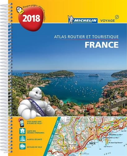 Atlas Routier France Spirale Michelin 2018