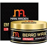 #9: Man Arden Beard & Mustache Wax - The Legend (Maximum Hold) 50gm