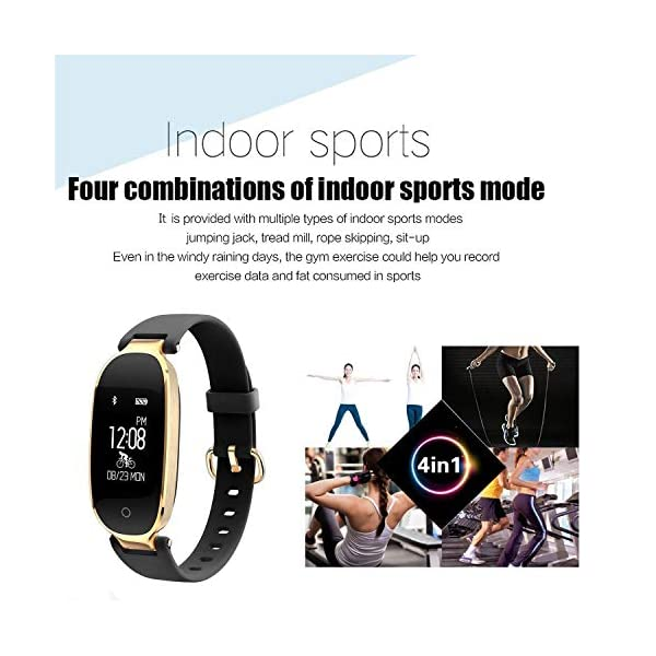Rayfit Pulsera Actividad Reloj Inteligente Mujer Monitor de Ritmo Cardíaco Fitness Tracker Contador de Calorías Pasos… 7