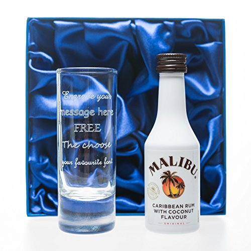 engraved-personalised-tall-shot-glass-malibu-in-silk-gift-box-for-christmas-18th-21st-30th-40th-birt