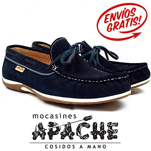 La Valenciana , Herren Bootsschuhe Marineblau