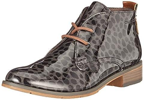 Marco Tozzi 25118, Desert Boots Femme, Gris (Dk.Grey S.p.c.), 39