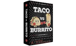 Taco vs Burrito - El muy Popular y sorprendentemente estratégico Juego de Cartas Creado por un niño de 7 años
