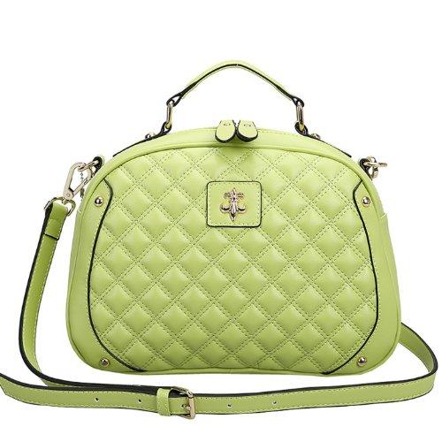Valin Q0443 donna Borse a spalla,Borse a tracolla29x20x11 cm (B x H x T) Green