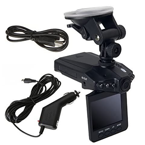 PORTABLE MINI DVR VOITURE CAMERA INFRAROUGE LCD ÉCRAN