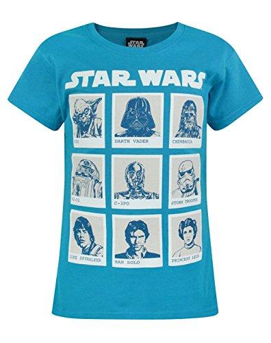 Mädchen - Star Wars - Star Wars - T-Shirt (11-12 Jahre)