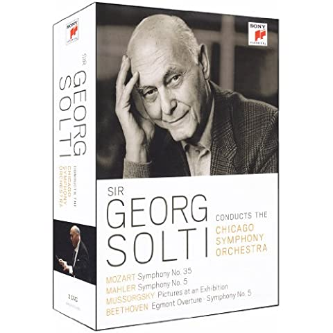 Sir George Solti conducts the Chicago symphony orchestra