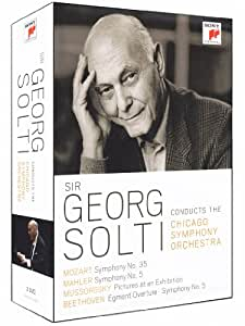 Georg Solti Conducts The Chicago Symphony Orchestra [DVD] [2012]