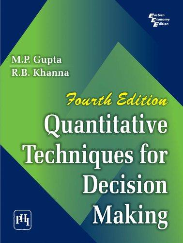 Quantitative Techniques Books Pdf