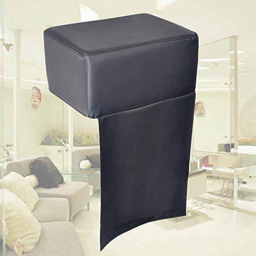 Preisvergleich Produktbild AceFox Kinder Sitzerhöhung für Friseurstuhl Auflagekissen Friseur Kindersitz Kinderkissen schwarz