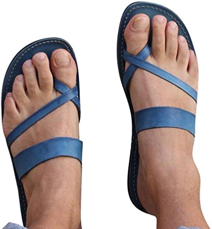 les pantoufles de tongs occasionnel juleya  s été sandales ouverte plage ouverte sandales toe sandales plates a92a3c