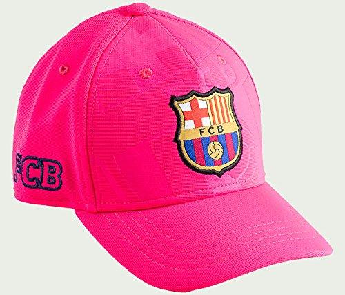 GORRA FC BARCELONA OFICIAL SOCCER ROSA 2016