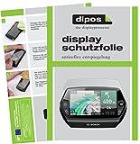 dipos I 6X Schutzfolie matt passend für Bosch Nyon (E-Bike Display) Folie Displayschutzfolie