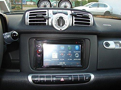 Radioblende DoppelDIN DIN smart fortwo 451 ab Oktober 2010