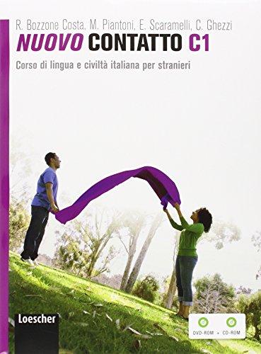 Nuovo Contatto C1. Corso di lingua e civiltà italiana per stranieri (Volume C1 + DVD ROM + CD ROM)