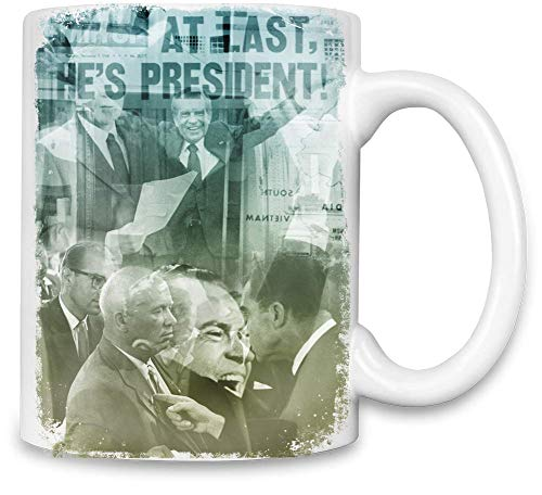 World Designz Richard Nixon Unique Coffee Mug | 11Oz Ceramic Cup| The Best Way to Surprise Everyone on Your Special Day| Custom Mugs by