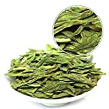 GOARTEA 500g (17.6 Oz) Organic Nonpareil Supreme West Lake Xi Hu Xihu Dragon Well Long Jing Longjing Spring Leaf Chinese GREEN TEA Tee