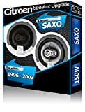 Citroen Saxo hinten Hatch Lautsprecher Fli 10,2cm 10cm Auto-Lautsprecher-Set 150W