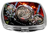 Rikki Knight Compact Mirror, Motorcycle Headlights