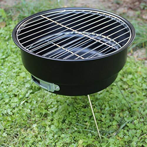 LIUQIAN Holzkohlegrills Outdoor tragbaren Grill BBQ Eismaschine Kohlenstoff Mini Freizeit Camping