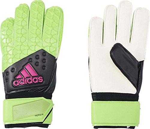 adidas Erwachsene Handschuhe ACE Replique, Grün/Schwarz/Pink, One size, 4056559821951