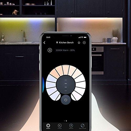 LIFX Z Erweiterung für LED-Lichtbandeinsatz Mehrfarbig, dimmbar, kein Hub erforderlich, funktioniert mit Amazon Alexa, Apple HomeKit und Google Assistant - 21