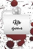 Klo Gästebuch: Das etwas andere Gästebuch | WC Klobuch für Gäste zum Eintragen und Ausfüllen | Geschenkidee zur Haus & Ferienwohnung Einweihung | Kloordnung | DIN A5