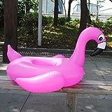 LQHLP Bambini Giri di Nuoto della Gomma di Ricambio Flamingo Cartoon Baby Pink Acqua Gonfiabile Seduto Cerchio dei Bambini Che Piscina Circle 90 * 75cm
