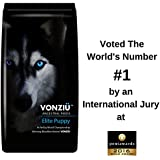 Vonziu Elite Puppy Dog Food 10kg - Small Medium Large & Giant Breed Kibble – High Energy Content - GIFT Ebook Guide - Best for 2 Weeks to 2