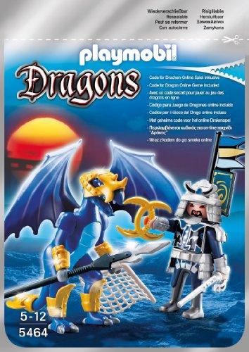 PLAYMOBIL 5464 - Ice Dragon mit Kämpfer