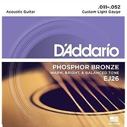 Kit de Cuerdas - D'Addario EJ26, Naranja