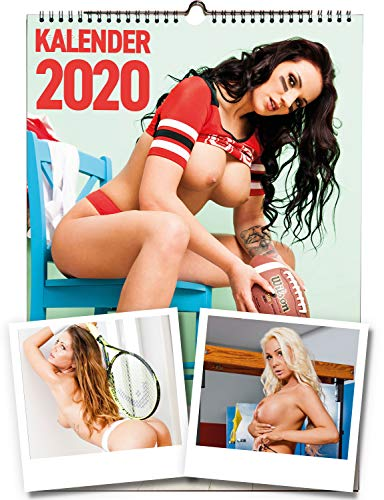 Live-Strip Girls 2020, DIN A3 Erotik-Kalender, alle sexy Frauen in Farbe & s/w - Wandkalender, Fotokalender, Posterkalender