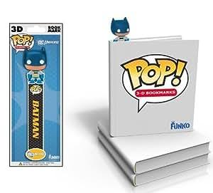 POP DC Comics Batman 3D Bookmark by Funko TOY (English Manual)