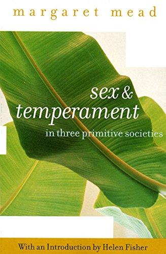 Sex and Temperament: In Three Primitive Societies por Margaret Mead