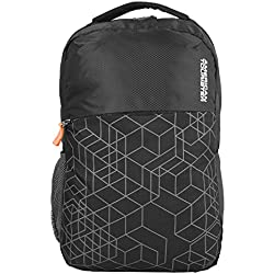 American Tourister Hoodie 02 Black Unisex Backpack