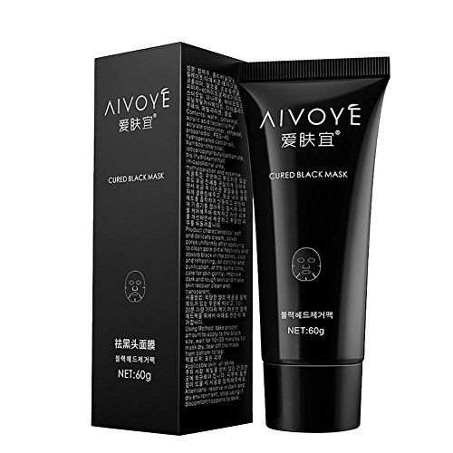 romantic-bear-face-nose-mask-suction-black-mask-deep-cleansing-blackhead-remover-60g