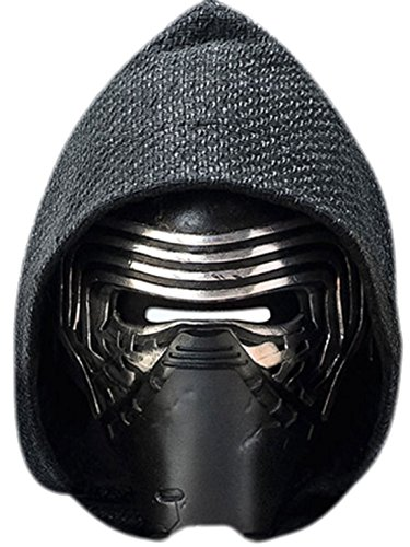 nen Kylo Ren Star Wars Karneval Faschingsmaske, Mehrfarbig (Pferd Kostüm Make-up)
