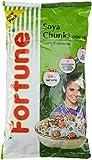 Fortune Soya Chunks/Soya Badi, 1kg Pouch