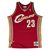 Mitchell & Ness Cleveland Cavaliers 23 Lebron James Swingman Trikot Jersey (M)