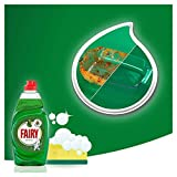 Fairy Original Washing Up Liquid Green with LiftAction. No Soaking, No Grease, No Fuss and Gentle On Your Skin, 1015 ml