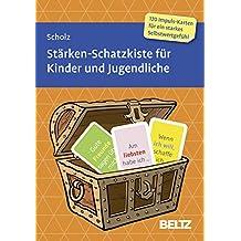 Stärken-Schatzkiste für Kinder und Jugendliche: 120 Karten mit 16-seitigem Booklet in stabiler Box, Kartenformat 15,2 x 10,7 cm