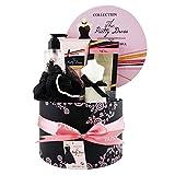 Gloss! Coffret Bain pour Femme Senteur Fleur de Pivoine/Patchouli The Pretty Dress Collection 5 Pièces