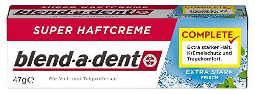 Blend-a-dent Complete Extra Stark Frisch Super-Haftcreme, 3er Pack (3 x 47 g)