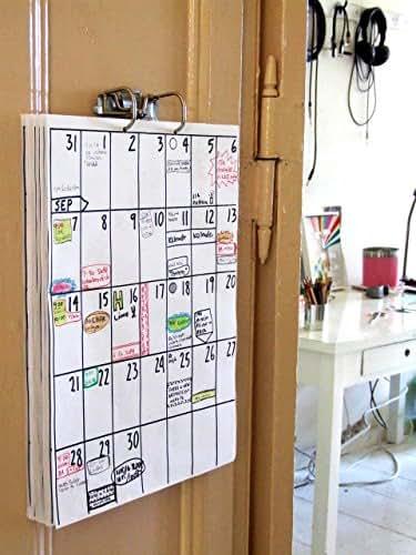 din a3 wandkalender 18 monate laufzeit z b jan 2019. Black Bedroom Furniture Sets. Home Design Ideas