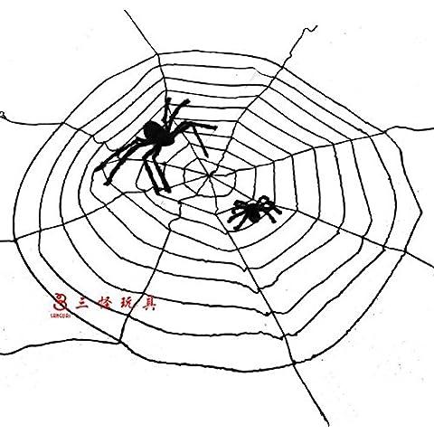 SLG Ventas de Halloween/Decoración de la casa embrujada/Accesorios de la barra/Peluche de araña-A