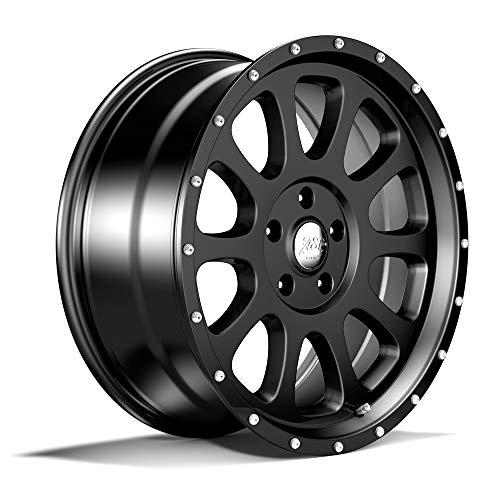 schwarz mit TÜV-Gutachten Jeep (8,5x20 Zoll ET+12) ()