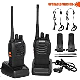 CACAGOO Walkie Talkie Recargable 16 Canales 1500mah CTCSS...